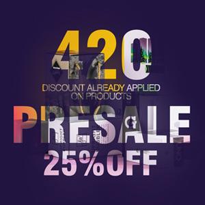 420 PRESALE DISCOUNT GRASSCITY