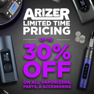 ARIZER DISCOUNT SALE