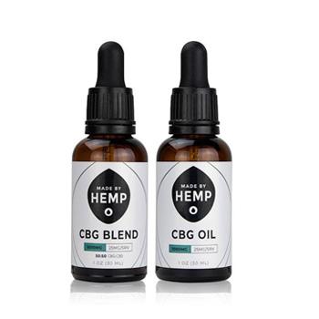 CBG tincture made by hemp