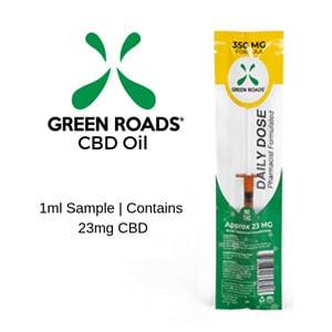 GREEN ROADS CBD FREE SAMPLE