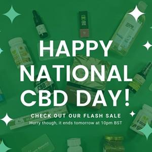 HAPPY NATIONAL CBD DAY DISCOUNT