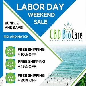 LABOR DAY CBD BIOCARE