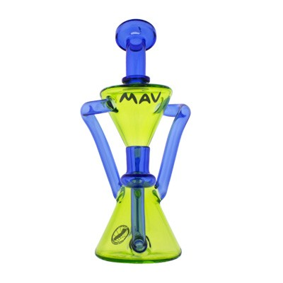 MAV glass colored recycler discount