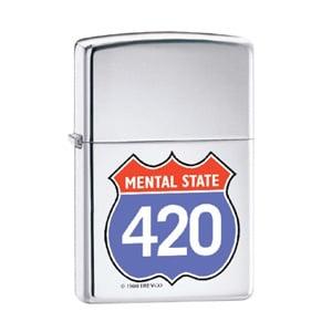 MENTAL STATE 420 ZIPPO DISCOUNT