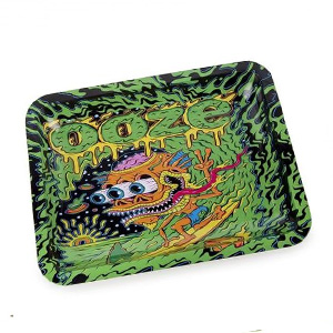 OOZE PSYCHEDELIC ROLLING TRAYS LIGHTERUSA