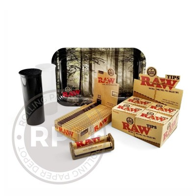 RAW 420 bundle rolling paper depot