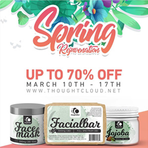 SPRING SALE THOUGHCLOUD DISCOUNT