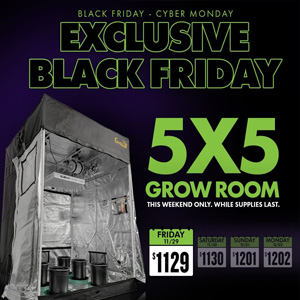 SUPERCLOSET 5X5 BLACK FRIDAY