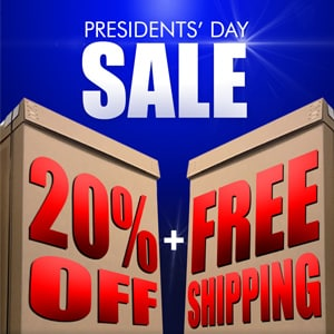 SUPERCLOSET PRESIDENTS DAY DISCOUNT
