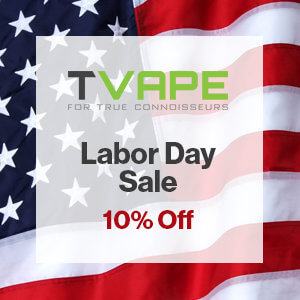 TVAPE DISCOUNT LABOR DAY 1