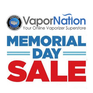 VAPORNATION MEMORIAL DAY DISCOUNT
