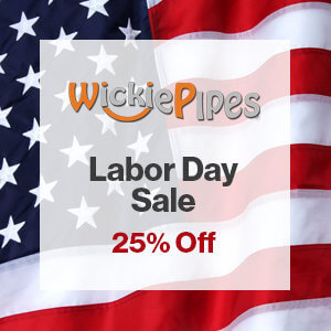 WICKIE PIPES DISCOUNT CODE LABOR DAY