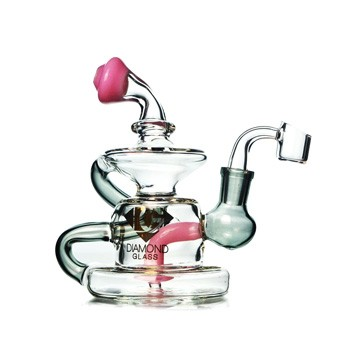 diamond glass pink klein recyclers