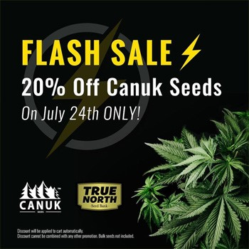 flash sale canuk seeds july 24th