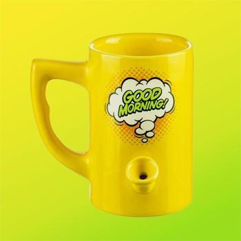 good morning mug pipe dankstop