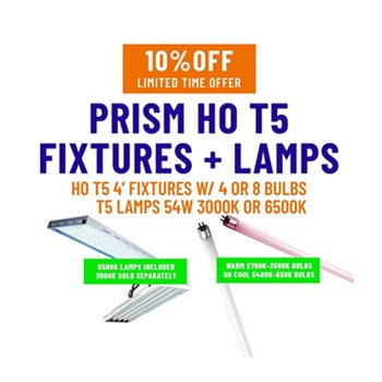 growers house prism t5 fixtures