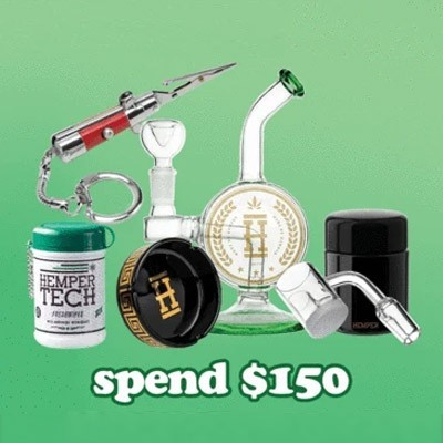 hemper freebies 150 spend discount