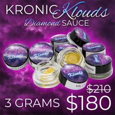 kronic klouds diamond sauce