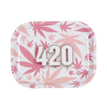 pink 420 tray everything for 420