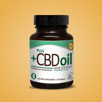 plus cbd softgels