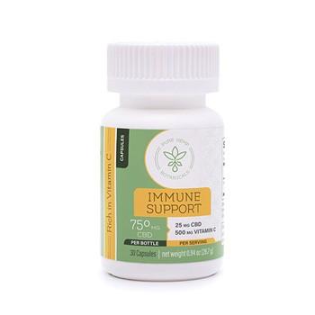 pure hemp botanials immune support