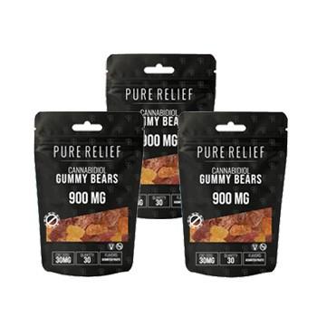 pure relief gummies 3 packs