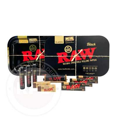 raw black bundle discount rolling paper depot
