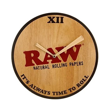 raw wall clock discount
