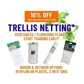 trellis netting discount growers house